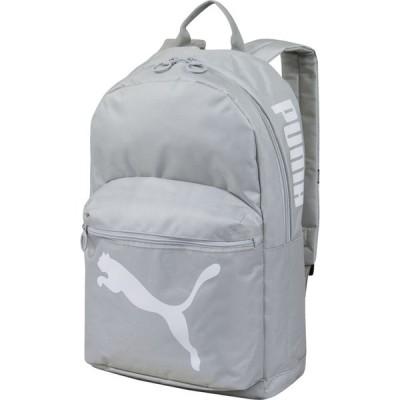 プーマ PUMA ユニセックス バックパック・リュック バッグ Essential Backpack Light Grey