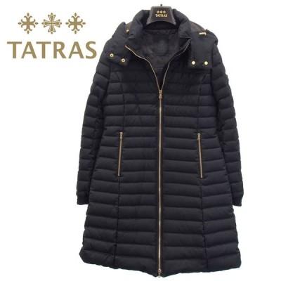 タタトラス TATRAS ウール ダウンコート レディース NARMADA/ナルマダ 脱着式 フード付き ロングコート LTA20A4759-19 BLACK 黒 ブラック セール
