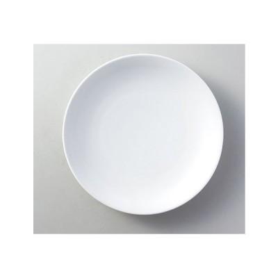 中華 オープン/単品 スーパーホワイト 9.0皿 [D28 x 4.2cm]  料亭 旅館 和食器 飲食店 業務用