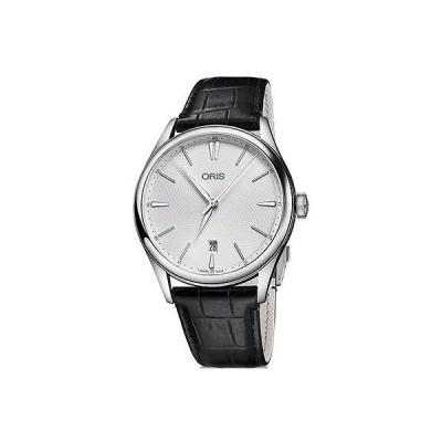 オリス 腕時計 Oris Artelier Date シルバー ダイヤル メンズ 腕時計 01 733 7721 4051-07 5 21 64FC