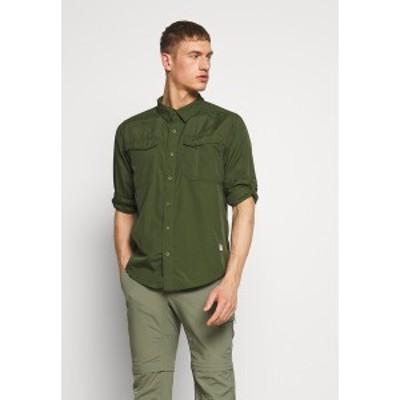 ノースフェイス メンズ シャツ トップス MEN SEQUOIA - Shirt - english green english green