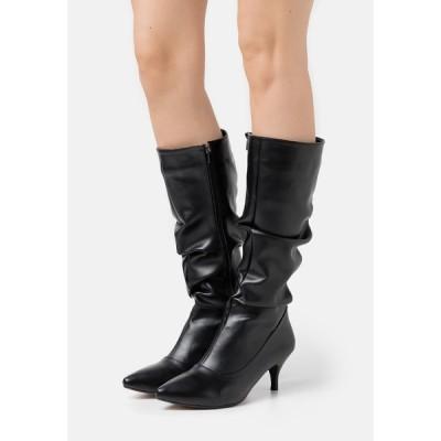 トレンドヨル ブーツ&レインブーツ レディース シューズ Boots - black
