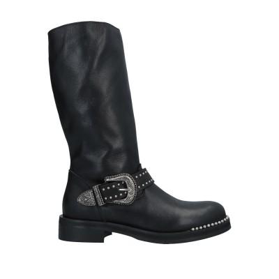 J|D JULIE DEE ブーツ ブラック 37 革 ブーツ