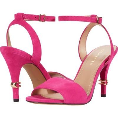 コーチ COACH レディース サンダル・ミュール シューズ・靴 Regina Suede Sandal Shocking Pink Suede