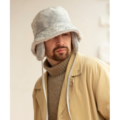 MIG&DEXI / Mighty Shine / ファーイヤーフラップバケットハット / FUR EAR FLAP BUCKET HAT MEN 帽子 > ハット