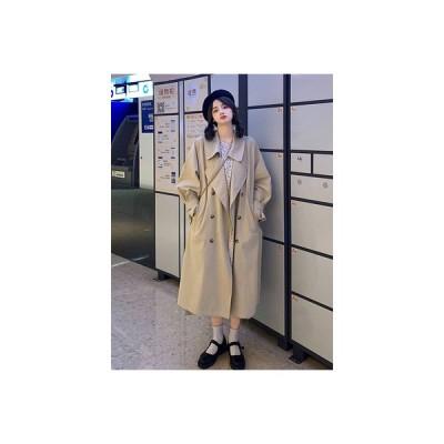 【送料無料】春秋 韓国風 ルース イングランド デザイン 感  コート 女 小 個 | 346770_A63497-0392009