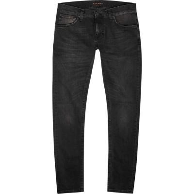 ヌーディージーンズ Nudie Jeans メンズ ジーンズ・デニム スキニー ボトムス・パンツ Tight Terry dark grey skinny jeans Grey
