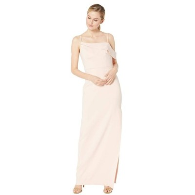 ランドリー Laundry by Shelli Segal レディース パーティードレス ワンピース・ドレス Asymmetrical Crepe Column Gown Blush