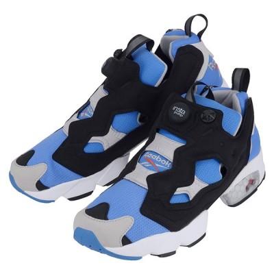 Reebok リーボック INSTA PUMP FURY M48756 メンズスニーカー靴インスタ ポンプ フューリー ブルー 青 ブラック 黒 シルバー 銀 ロゴ(re0208) 【並行輸入品】