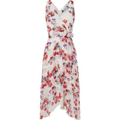 ダナ キャラン ニューヨーク DKNY レディース ワンピース ラップドレス ワンピース・ドレス Wrap Hankerchief Dress Multi