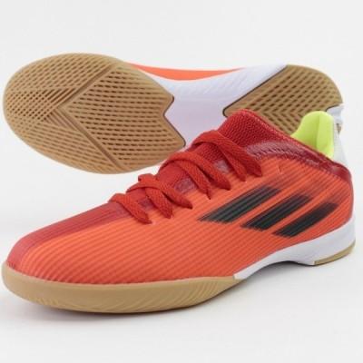 アディダス エックス スピードフロー.3 IN J ジュニア 子供用 フットサルシューズ  adidas FY3314