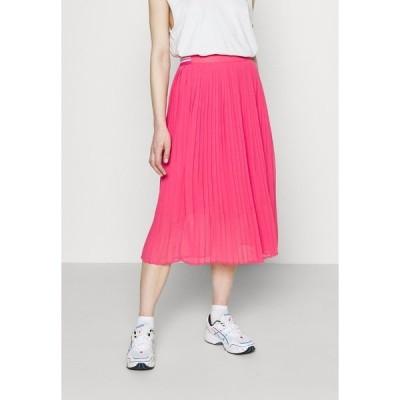 ペペジーンズ スカート レディース ボトムス LOIS - Pleated skirt - dark chicle