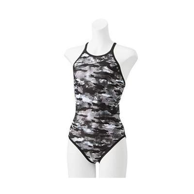 Speedo(スピード) 練習水着 レディース スーツ グレーシア ターンズ 競泳 トレーニング STW02052 ブラック K SS