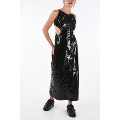 MAISON MARGIELA/メゾン マルジェラ Black レディース MM1 Cut Out Vinyl Dress dk