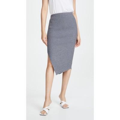セオリー Theory レディース スカート Twisted Rib Skirt Light Charcoal