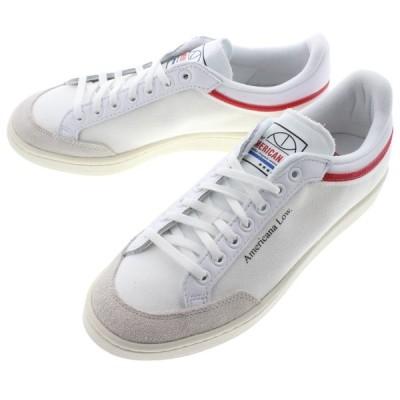 アディダス adidas スニーカー アメリカーナ ロー AMERICANA LOW フットウェアホワイト/グローリーレッド/チョークホワイト EF6385
