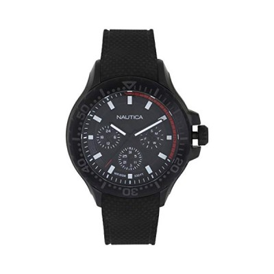 Nautica Men's Analogue Quartz Watch with Silicone Strap NAPAUC004 並行輸入品