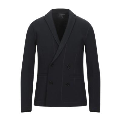 エンポリオ アルマーニ EMPORIO ARMANI テーラードジャケット ブラック M ナイロン 93% / ポリウレタン 7% テーラードジャケ