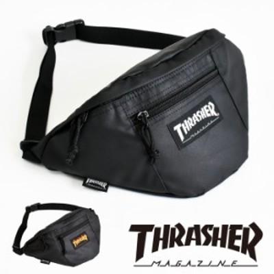 スラッシャー THRASHER ボディバッグ ウエストバッグ レディース メンズ ブランド おしゃれ 斜め掛け 斜めがけ 大容量 THRPN-3900