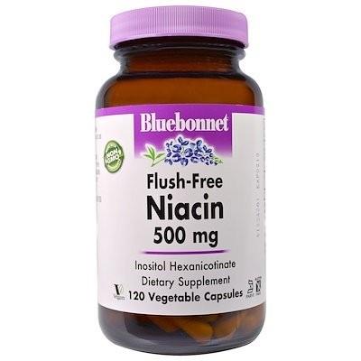 Flush-Free Niacin, 500 mg, 120 Vegetable Capsules