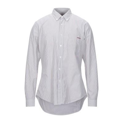 ロイ ロジャース ROŸ ROGER'S シャツ ダークブラウン 50 コットン 100% シャツ