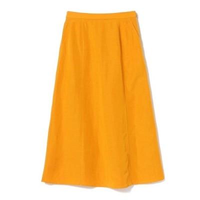 スカート BEAMS LIGHTS / 手洗い可能 モダールリネン フレアスカート