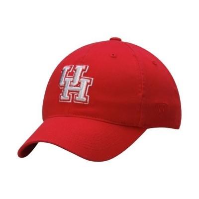 ユニセックス スポーツリーグ アメリカ大学スポーツ Houston Cougars Top of the World Relaxer 1Fit Flex Hat - Red 帽子