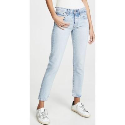 マウジー MOUSSY VINTAGE レディース ジーンズ・デニム ボトムス・パンツ Camilla Tapered Jeans Light Blue