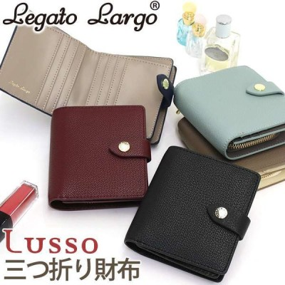 財布 LegatoLargo レガートラルゴ レディース 二つ折り財布 かわいい 二つ折り 折り財布 小銭入れ 小さめ 母の日
