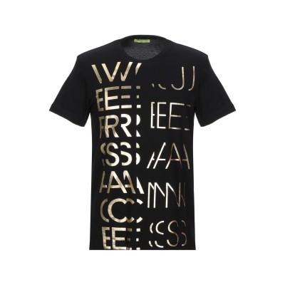 VERSACE JEANS T シャツ ブラック XS コットン 100% T シャツ
