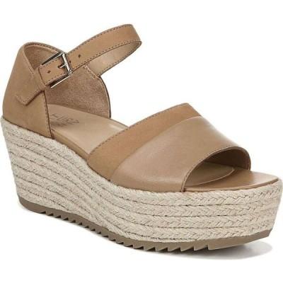 ナチュラライザー Naturalizer レディース サンダル・ミュール ウェッジソール シューズ・靴 Opal Platform Wedge Sandals Light Brown