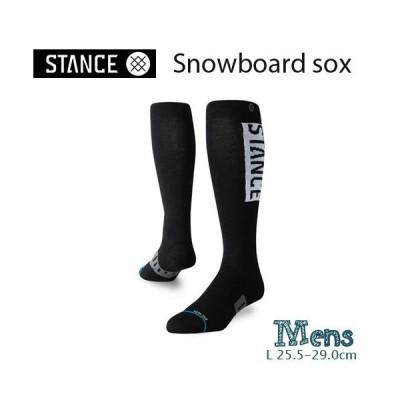 スノーボードソックス メンズ STANCE スタンス OG WOOL スポーツ 靴下 くつ下 25.5-29.0cm ブラック スキーソックス