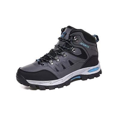 Zcoli トレッキングシューズ メンズ 防水 ミドルカット アウトドアシューズ レディース 防滑 通気 登山靴 大きいサイズ 軽登山用シュ