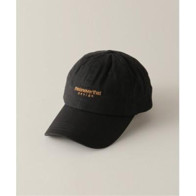 【エディフィス】  L-LOGO CAP メンズ ブラック フリー EDIFICE