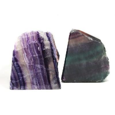 置物 インテリア 置き石 原石一面磨き フローライト 天然石 パワーストーン