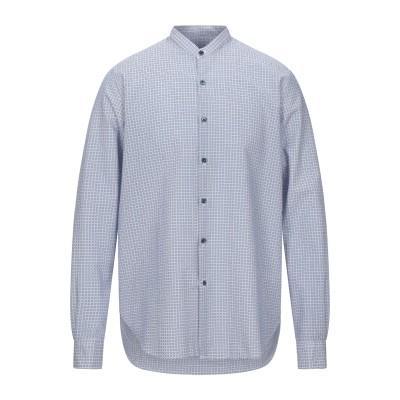 ジョルジオ アルマーニ GIORGIO ARMANI シャツ ブルー 42 コットン 100% シャツ