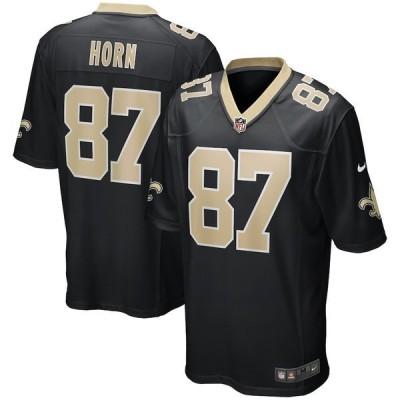 ナイキ メンズ Tシャツ トップス Joe Horn New Orleans Saints Nike Game Retired Player Jersey