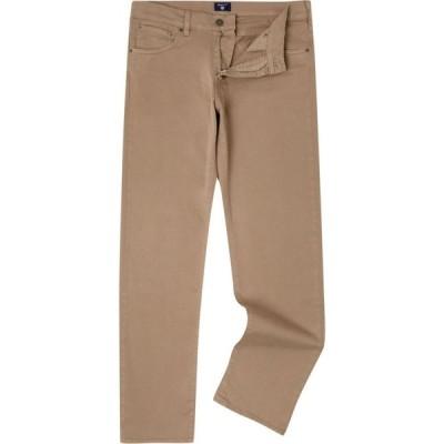 ガント Gant メンズ ジーンズ・デニム ボトムス・パンツ Straight Leg Trousers Desert Brown