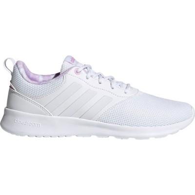 アディダス スニーカー シューズ レディース adidas Women's QT Racer 2.0 Running Shoes White/White