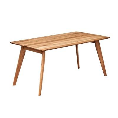 ダイニングテーブル ダイニング ミーティングテーブル 作業台 ワークデスク 150cm幅 テーブル単品 KIND(カインド) 幅150cm オーク 2色対応