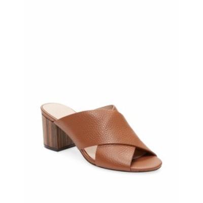 アレックス+アレックス レディース シューズ サンダル Criss-Cross Leather Mid-Heel Sandal