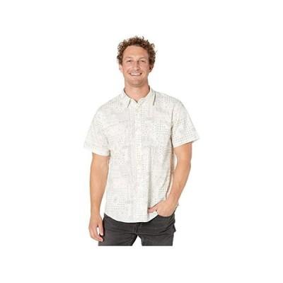 ラッキーブランド Short Sleeve San Gabriel メンズ シャツ トップス White Print