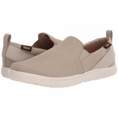 Teva テバ メンズ 男性用 シューズ 靴 スニーカー 運動靴 Voya Slip-On Plaza Taupe【送料無料】