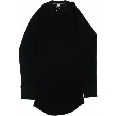 エントリーエスジー フラックス ENTRY SG 長袖 サーマル Tシャツ アンティークブラック メンズ FLUX ANTIQUE BLACK 070