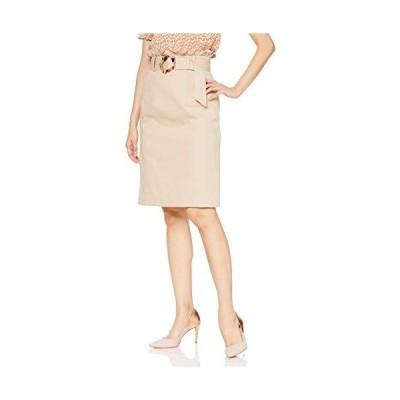 ミーア スカート ツイルバックフリルタイトスカート レディース 32935116 ベージュ 日本 F (FREE サイズ)