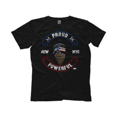 AEW(オール・エリート・レスリング) Tシャツ「All Elite Wrestling サンタナ&オーティズ SANTANA&ORTIZ  Proud And Powerful Tシャツ」米直輸入Tシャツ