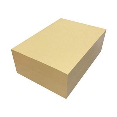 ペーパーエントランス クラフト紙 A4 75.5kg 1000枚 コピー用紙 印刷 インクジェット プリンター用紙 業務用 半晒 ライトブラ
