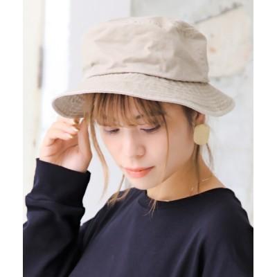 14+(ICHIYON PLUS) / ウォッシュバケットハット WOMEN 帽子 > ハット