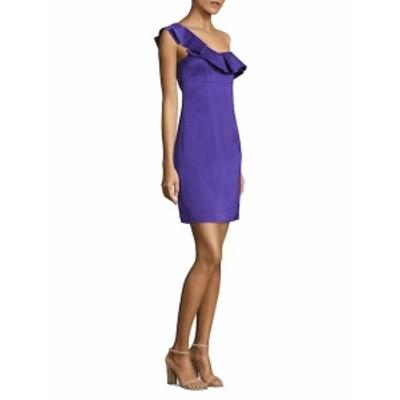 トリーナ ターク レディース ワンピース One-Shoulder Ruffled Dress