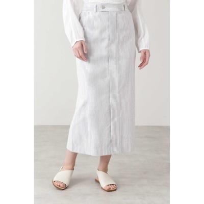 【ヒューマンウーマン/HUMAN WOMAN】 ◆≪Japan Couture≫パイルドビースカート
